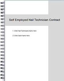 Self Employed Nail Technician S Chair Rental Agreement